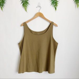 Eileen Fisher • Organic Cotton Tank Top